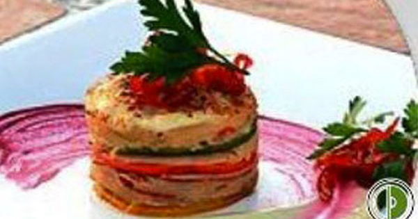 Aloo Cake with Gobi Sauce and Chilli Jam