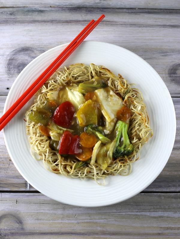 Pan Fried Noodles Image