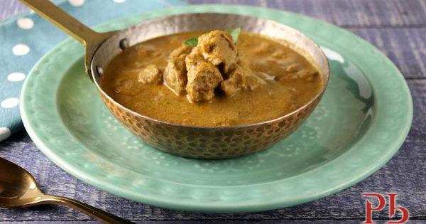 Soya Boti Kebab Korma